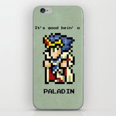 It's Good Bein' A Paladin iPhone & iPod Skin