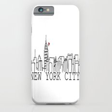 New York. Slim Case iPhone 6s
