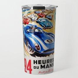 Le Mans 1956, vintage poster, Le Mans t-shirt, 24hs Le Mans Travel Mug
