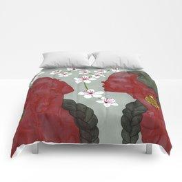 cherry blossom girls Comforters