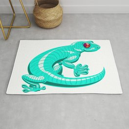 Lenny the Lounge Lizard Rug