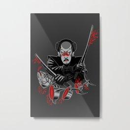 CRAZY SUSHI Metal Print