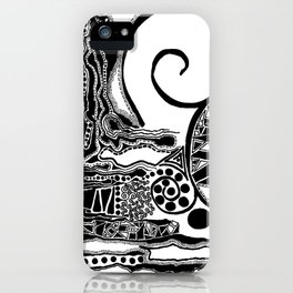 Together, We Are Fossils by Kaitlyn Larson iPhone Case