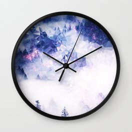 Mists of Thought Wall Clock