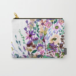 Scarlett Floral Pastel Carry-All Pouch