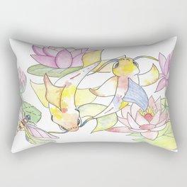 The Power of Koi Rectangular Pillow