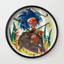 Caipora DIVA Wall Clock