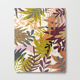 Earthy Forest || Metal Print