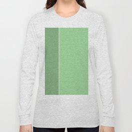 Green Lines Long Sleeve T-shirt