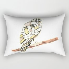 Canary in a Cathouse Rectangular Pillow