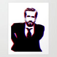 3D Gosling Art Print