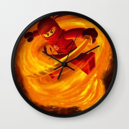 kai fairy ninja Wall Clock
