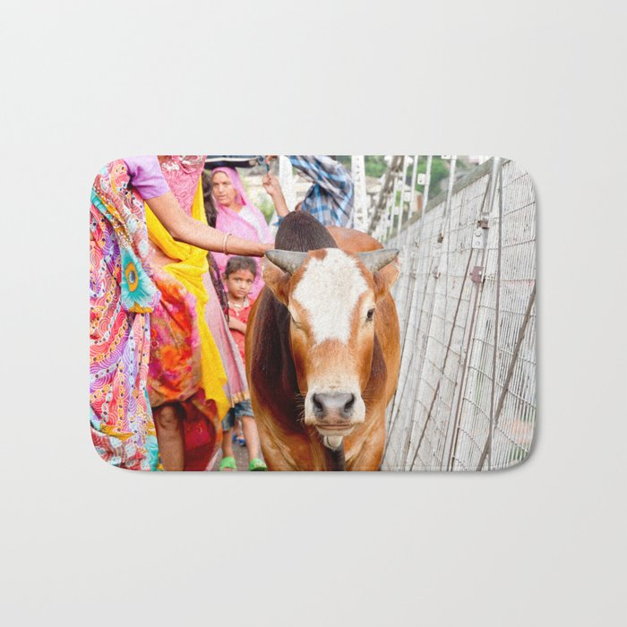 Holy cow, India Bath Mat