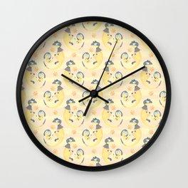 Heliop-tile Wall Clock
