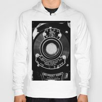 vintage camera Hoodies featuring Vintage Camera by Mark Alder