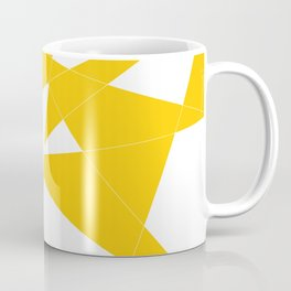 yellow diamond Coffee Mug
