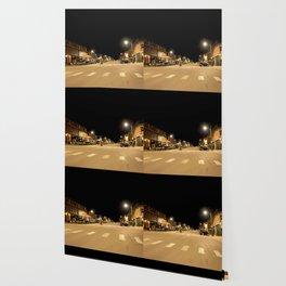Gold Rush Era Town - Silverton at Night Wallpaper