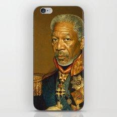 Morgan Freeman - replaceface iPhone Skin