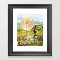 Golden Pockets Framed Art Print