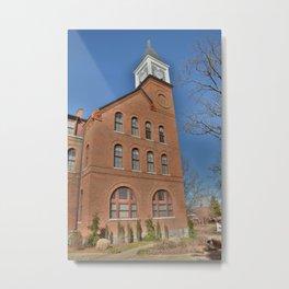 Cherokee Nation - NSU, Originally the Cherokee Female Seminary of 1851, No. 3 of 4 Metal Print