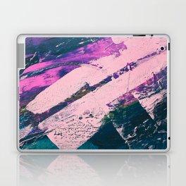 Wonder. - A vibrant minimal abstract piece in jewel tones by Alyssa Hamilton Art Laptop & iPad Skin