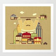 Shoplifter! Art Print