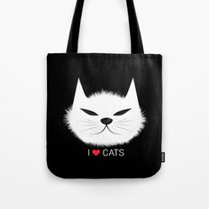 PERSONALITY OF A CAT Tote Bag