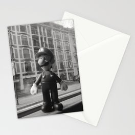 Luigi in the city Stationery Cards