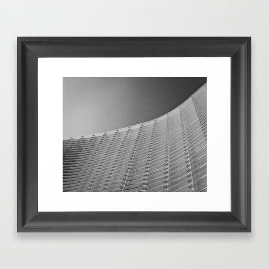Minimal Minimal Framed Art Print