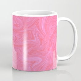 Pink Liquid Marble Coffee Mug