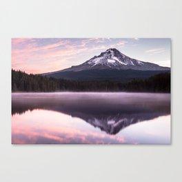 Lake Trillium Sunrise Canvas Print