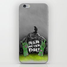 Rock & Roll Never die! iPhone & iPod Skin