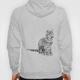 Abstract cats Hoody
