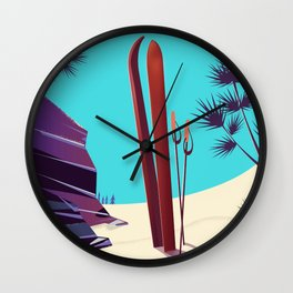 Telluride - Colorado's Rocky Mountains Wall Clock