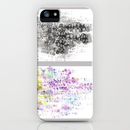 Grid Series No.5 Wisteria iPhone Case