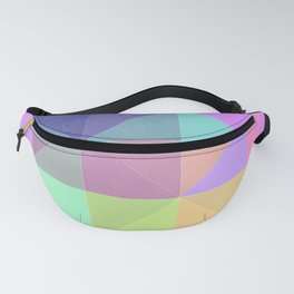 Abstract Holographic Iridescent Art 6 Fanny Pack
