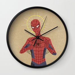 The Gospel of Spider-Man Wall Clock