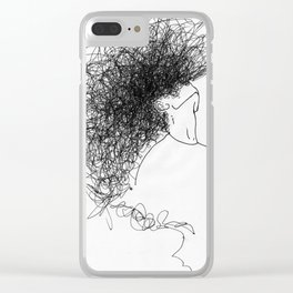 Fall Back Clear iPhone Case
