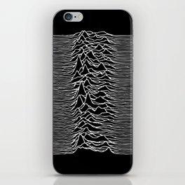 Joy Division lines iPhone Skin