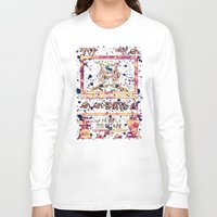 mew Long Sleeve T-shirts featuring ancient mew by HiddenStash Art