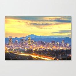 The Mile High City Canvas Print