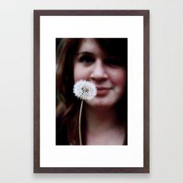 Whisp Framed Art Print