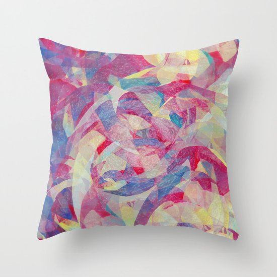 In Sanity Throw Pillow