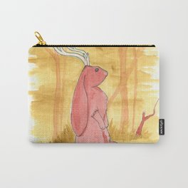 Long Eared Jackalope Standing Carry-All Pouch