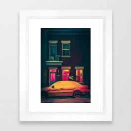 MTL Streetscape Framed Art Print