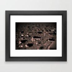 rain was here Framed Art Print