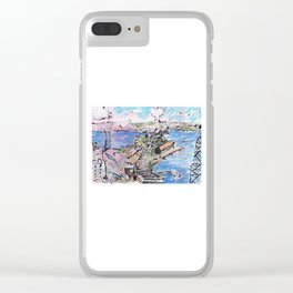 Garden Island, from Onslow Gardens Clear iPhone Case
