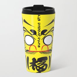 Daruma Board Metal Travel Mug
