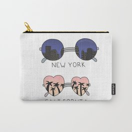 New york California Glases Tumblr Design Carry-All Pouch
