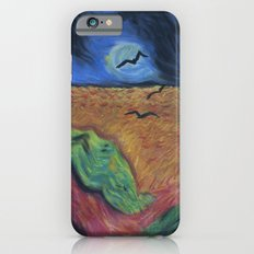 Crows Over A Wheat Field and Calvin iPhone 6s Slim Case